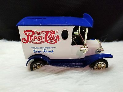 Golden Wheel Diecast Limited Edition Pepsi Cola Coin Bank