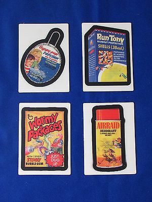 2008 Topps Wacky Packages Flashback - 4 Different Motion Cards