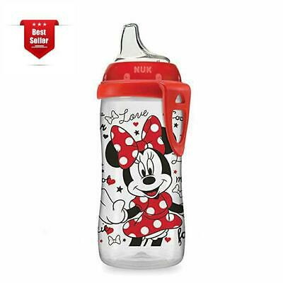 Silicone Nuk Minnie Mouse Spout Active Sippy Cup BPA Lead Latex Phthalate Free