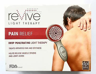 NEW reVive Clinical Pain Relief Infrared dpI LED Light Therapy Handheld System