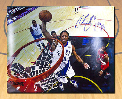 DeMar DeRozan 2016 Toronto NBA All Star Game Signed With Note 16x20 Photo #/16