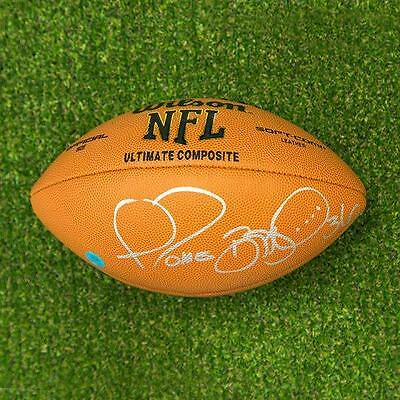 Jerome Bettis Autographed NFL Wilson Composite Football - Pittsburgh Steelers