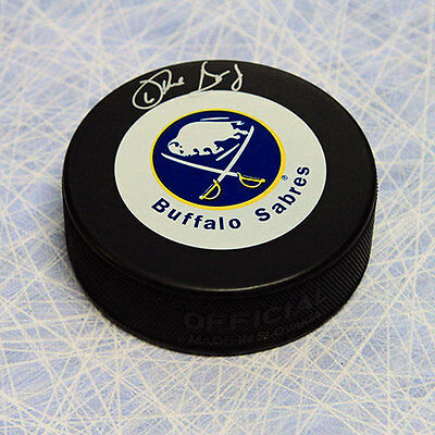 Phil Housley Buffalo Sabres Autographed Hockey Puck