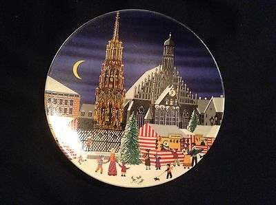Collectors Poole Plate Scene IV No 434 - Made in England 15.5cm Diameter