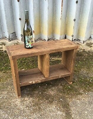 2 Hole Rustic Up-Cycled  Stool
