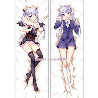 New Game! Anime Girl Dakimakura Aoba Suzukaze Hugging Body Pillow Case Cover