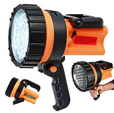 37 LED Rechargeable Lantern Work Light Torch 1 Million Candle Power Spotlight