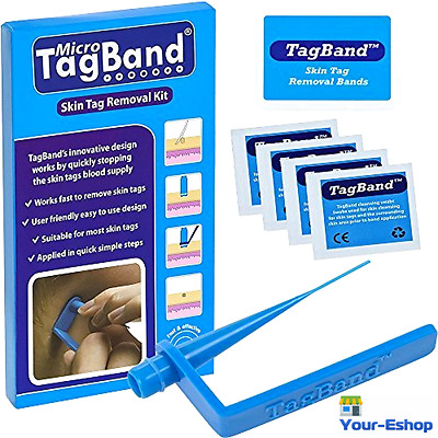 Micro Tagband Skin Tag Remover Wart Mole Tags Removal Device For Face And Body