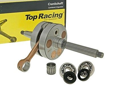 Kurbelwelle SET Jasil Top Racing 55mm HUB + 3mm Gilera Typhoon X Italjet 125 2T