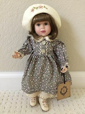 """Boyds Bears """"ERICA"""" Yesterday's Child Collection Porcelain DOLL ~ NEW WITH TAGS"""