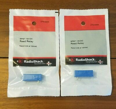 SPST Reed Relay * 2 Pack * 275-0233