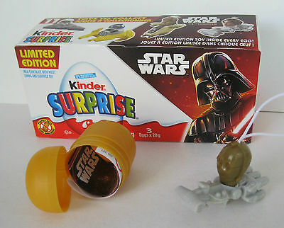 New 2016 KINDER SURPRISE Limited Edition STAR WARS C3PO Toy Figure