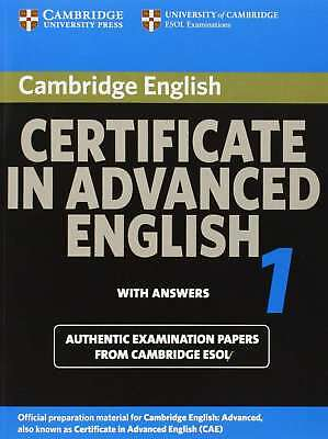 Cambridge Certificate in Advanced English 1 for updated exam Student's Book with