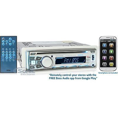 Boss MR762BRGB In-Dash CD/AM/FM Marine Boat Bluetooth Stereo Receiver