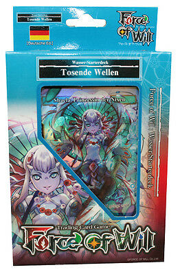 Force of Will - Reiya Starterdeck WASSER - Tosende Wellen - Deutsch