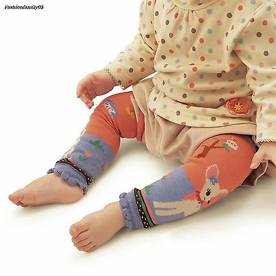 Comfort Toddler Horse Cotton Kid's Basic Lovely Cartoon Cat Print Legwarmers