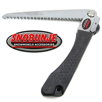 "Snobunje Steel Handle Deluxe 8"" Folding Saw Locking Survival Hand Tree Limb"
