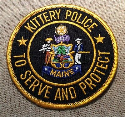 ME Kittery Maine Police Patch
