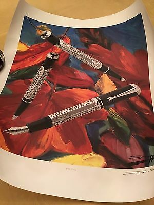 MONTBLANC Marcel Proust LIMITED EDITION Art Print # 285 of 1000 by James Stagg