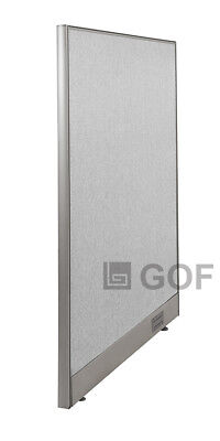 "GOF Wall Mounted Office Partition 30""W x 48""H / Office Panel, Room Divider"