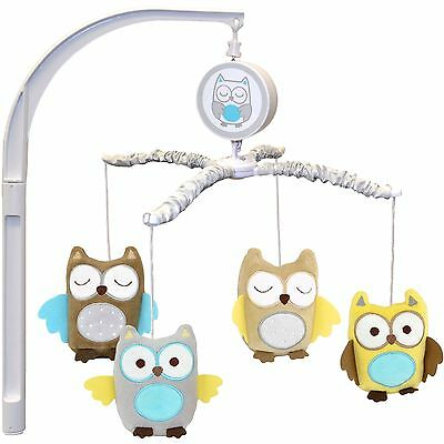 Reduced Price! Carters Owl Crib Musical Mobile new without box