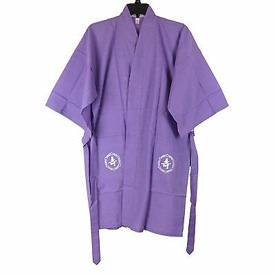 Traditional Chinese Women's Embroidered Robe Top in Purple M New