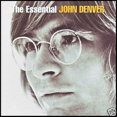 JOHN DENVER (2 CD) THE ESSENTIAL CD ~ 70's COUNTRY GREATEST HITS / BEST OF *NEW*