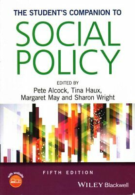 The Student's Companion to Social Policy 5E by Pete Alcock 9781118965979