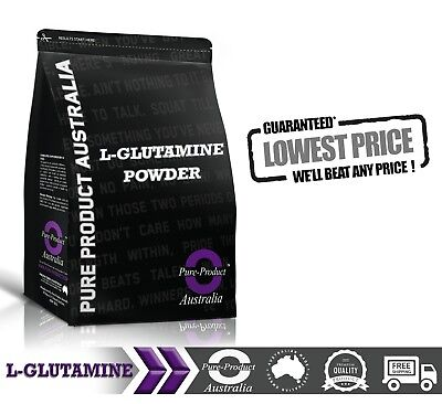 1KG 100% PURE MICRONISED L GLUTAMINE Powder