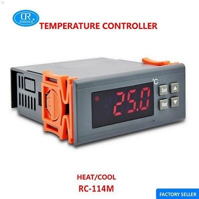 RC-114M Digital High Temperature Controller Thermostat for Heating -30~300°C
