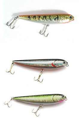 Tronixpro Surface Skimmer Bass Pike Fishing Lure - Various Colours Available