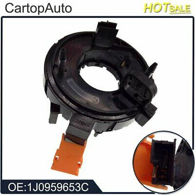 1J0959653C Clock Spring Spiral Cable Airbag for Audi Seat Skoda VW 1997-2004