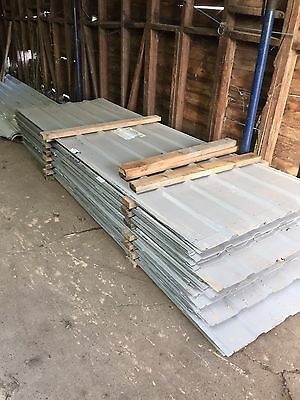 NEW Box profile sheeting, Roofing sheets, Cladding 3m x 1m coverage DN7