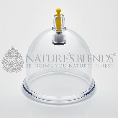 1000 Nature's Blends Hijama Cup Cupping Therapy B1 5.95cm Free Next Day Delivery