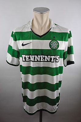 Celtic FC Gr. L Jersey Nike 2010/2011 Glasgow Tennents Home Schottland