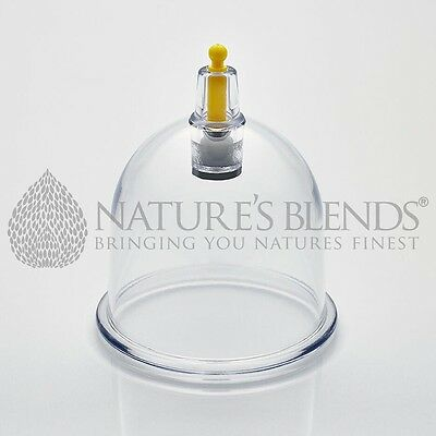 500 Nature's Blends Hijama Cups Cupping Therapy B2 5.15cm Free Next Day Delivery
