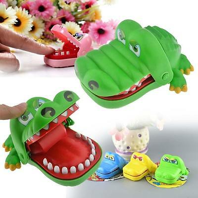 Cute Mini Crocodile Mouth Dentist Bite Finger Game Toy For Kids Adult Funny E-