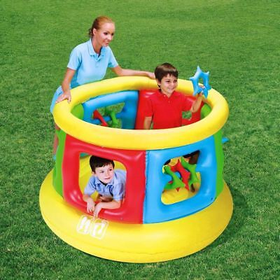 Bestway Kid Jumping Castle Gym Inflatable Play Bouncer Trampoline #52056