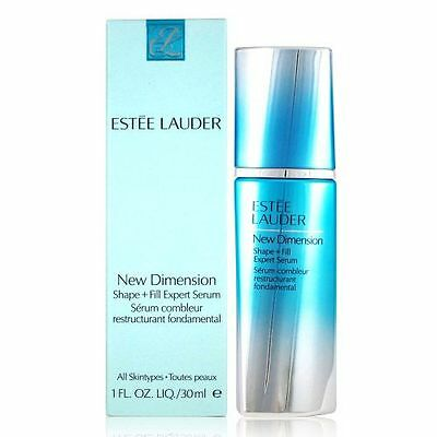 New  Estee Lauder New Dimension Shape and Fill Expert Serum 30ml Boxed
