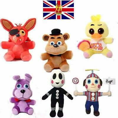 "10"" FNAF Five Nights at Freddy's Sanshee Plushie Kids Toy Plush Bear Foxy Toys"