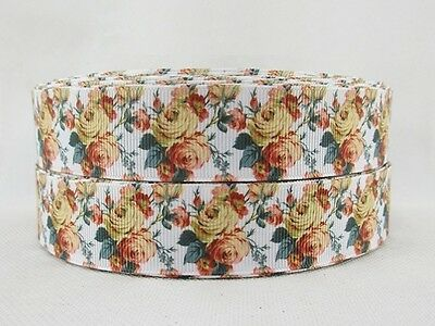 """1"""" (25mm) Grosgrain Ribbon - By the Metre - #4476 Antique Rose #2"""