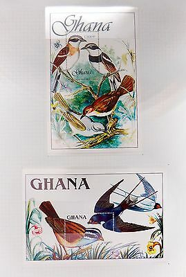 GHANA 1989 Birds M/Sheets (2) U/M NB2999