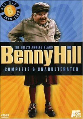 NEW - Benny Hill Complete and Unadulterated - The Hill's Angels Years, Set Six