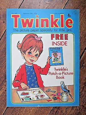 Twinkle Comic.  No.349   September 28Th.  1974.