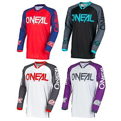 ONeal Mayhem Blocker Moto Cross Jersey Trikot MX Enduro MTB Mountainbike Shirt