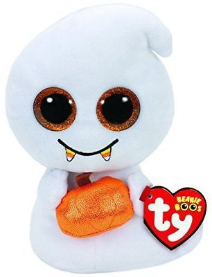 Ty Halloween Beanie Babies Boos Scream Ghost Plush Soft Toy New With Tags