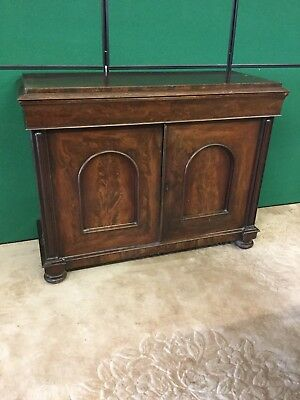 Antique Victorian Sideboard Cupboard With Drawer