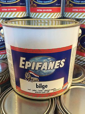 Epifanes Bilge Paint in Grey 2 litre BPG.750 (750 ml available) FREE Delivery