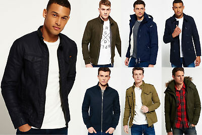 New Mens Superdry Jackets Selection - Various Styles & Colours 3008