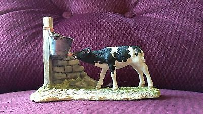 Morning Feed .Border Fine Arts. Hand Made in Scotland. James Herriot 1993